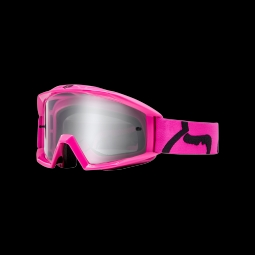 Masque de vtt fox main goggle race pink