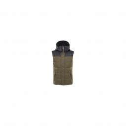 Veste The North Face B Harway Hooded Vest Green