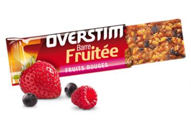 Barre Énergétique Overstims Fruitée Fruits Rouges