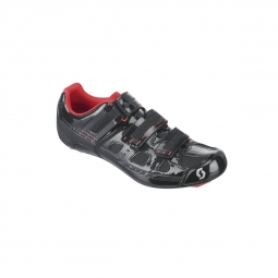 Chaussures de velo scott road comp black gloss red 6