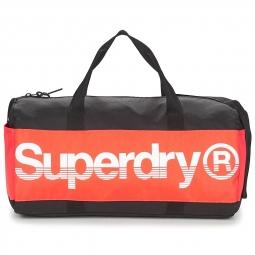Sac de sport superdry montana barrel black orange 0