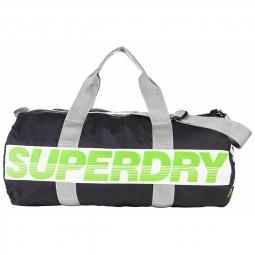 Sac de sport superdry international barrel grey 0