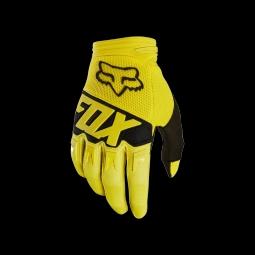 Gants de vtt fox dirtpaw race glove yellow s