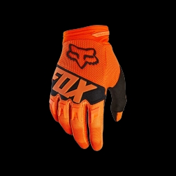 Gants de vtt fox dirtpaw race glove orange s