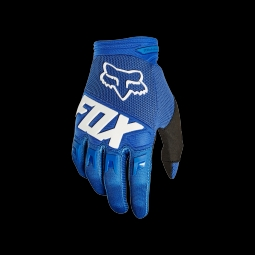 Gants de vtt fox youth dirtpaw race blue xs