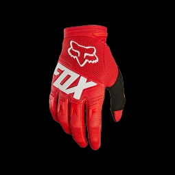 Gants de vtt fox youth dirtpaw race red