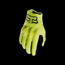 Gants de vtt fox attack glove yellow black