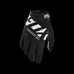 Gants de vtt fox ranger gel glove black white s