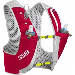Sac a dos camelbak ultra pro vest 17oz quick stow flask crimson red lime punch 0