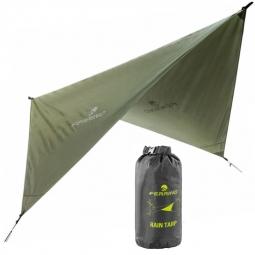 Toile Ferrino Rain Tarp 240 X 240 Cm Vert Olive