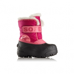 Après-ski Sorel Childrens Snow Commander Tropic Pink