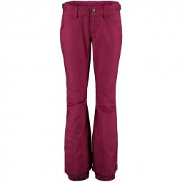 Pantalon de ski o neill pw friday night pant passion red