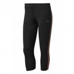 Collant adidas tight response 3 4 noir easy orange s