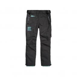 Pantalon De Ski Superdry Snow Pant Black Grit