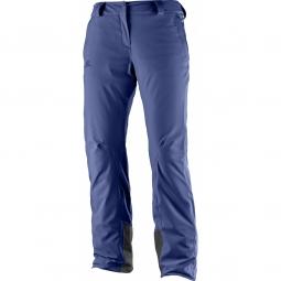 Pantalon De Ski Salomon Icemania Medieval Blue