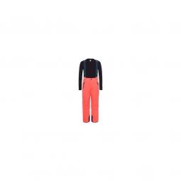 Pantalon Ski The North Face Snowquest Suspender Plus Red