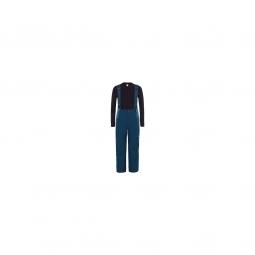 Pantalon Ski The North Face Snowquest Suspender Plus Blue