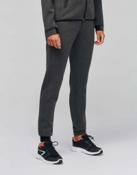 Proact Pantalon jogging urban - PA1009 - femme - gris chiné foncé
