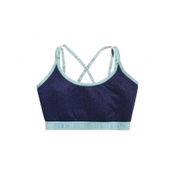 Brassiere de sport superdry studio cross back blue m