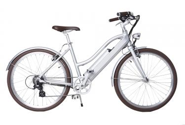 Vélo de Ville Electrique Femme Lutece Libby Miller 26´´ Gris Météore