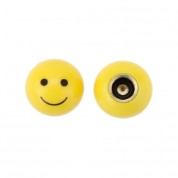 Bouchon de valve pour velo smiley