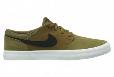Nike SB Solarsoft Portmore II Shoes Olive / Black