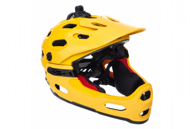 Bell Super 3R MIPS Helmet Yellow 2019