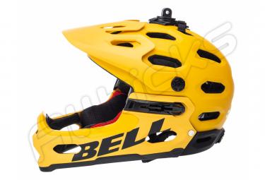 Bell Super 3R MIPS Casco Amarillo 2019