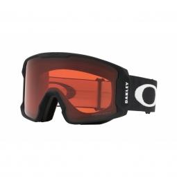 Masque ski oakley line miner matte black prizm rose