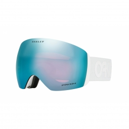 Masque oakley flight deck factory pilot white prizm sapphire