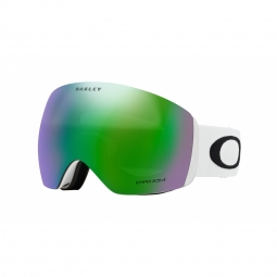 Masque oakley flight deck matte white prizm jade iridium