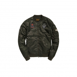 Bomber superdry limited edition flight army green