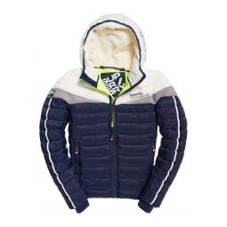 Veste superdry fuji downhill jacket navy optic s