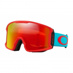 Masque oakley line miner xm red caribbean sea prizm torch