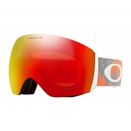 Masque oakley flight deck arctic fracture orange prizm torch