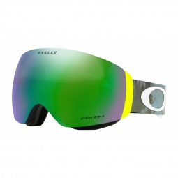 Masque oakley flight deck xm tranquil flurry retina prizm jade