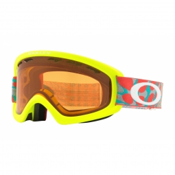 Masque oakley o frame 2 0 xs octoflow retina red persimmon
