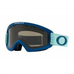 Masque oakley o frame 2 0 xs poseidon artic surf dark grey