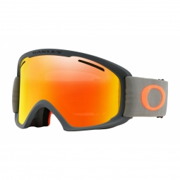 Masque oakley o frame 2 0 xl forged iron brush fire