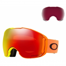 Masque oakley airbrake xl harmony fade collec prizm torch et rose
