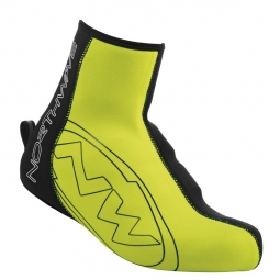 Couvre chaussures northwave blade 2 shoecover black yellow fluo