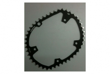 Kit Plateaux OSYMETRIC 5 branches Campagnolo compatible 11v 135mm - Argent