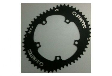Image of Kit plateaux osymetric 5 branches campagnolo compatible 11v 135mm noir