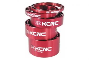 Entretoises - Bagues de réhausse KCNC - Rouge