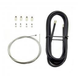 Kit cable et gaine de derailleur pour velo