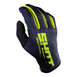 Gants long shot bmx rogue kid black neon yellow kid xxs