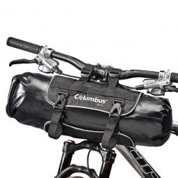 Handlebar pack bag sacoche de guidon columbus de 10 litres noir
