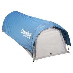 Tente poncho Nomad COLUMBUS 1 personne bleue