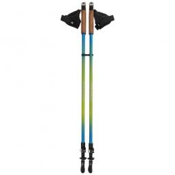 Paire de bâtons de marche nordique ND2 COLUMBUS bleus
