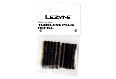 Pack of 10 LEZYNE Black Wicks